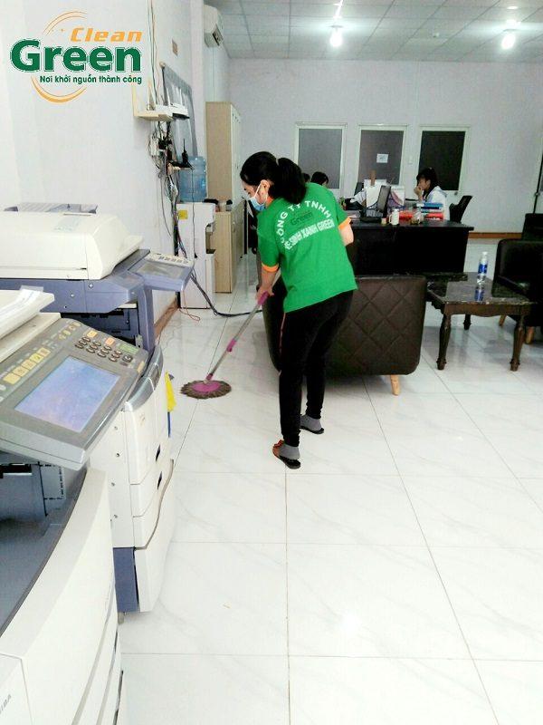 Công ty cung cấp dịch vụ vệ sinh văn phòng Green Clean