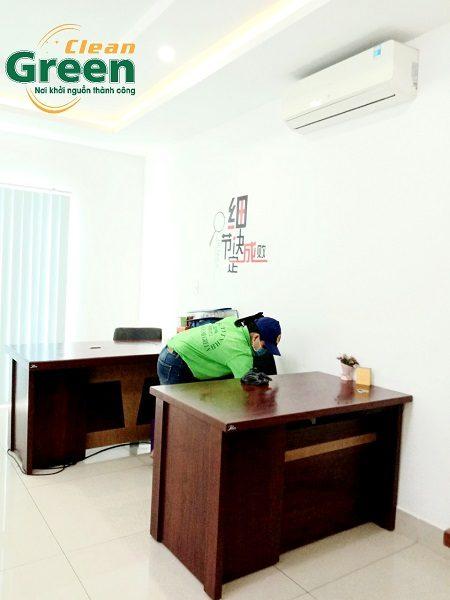 Công ty cung cấp tạp vụ văn phòng theo giờ Green Clean