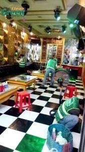 tổng vệ sinh quán karaoke