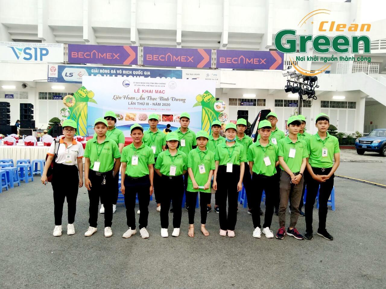 Green Clean đồng hành cùng Liên hoan Ẩm thực Bình Dương lần III-2020