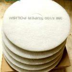 Pad chà sàn 3M 4100 size 16in ( trắng )