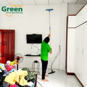 Green Clean - Dịch vụ giúp việc văn phòng làm theo giờ tại Bình Dương